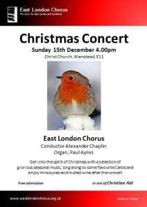 Flyer Family Christmas Concert