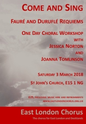 Flyer for our workshop in March 2018