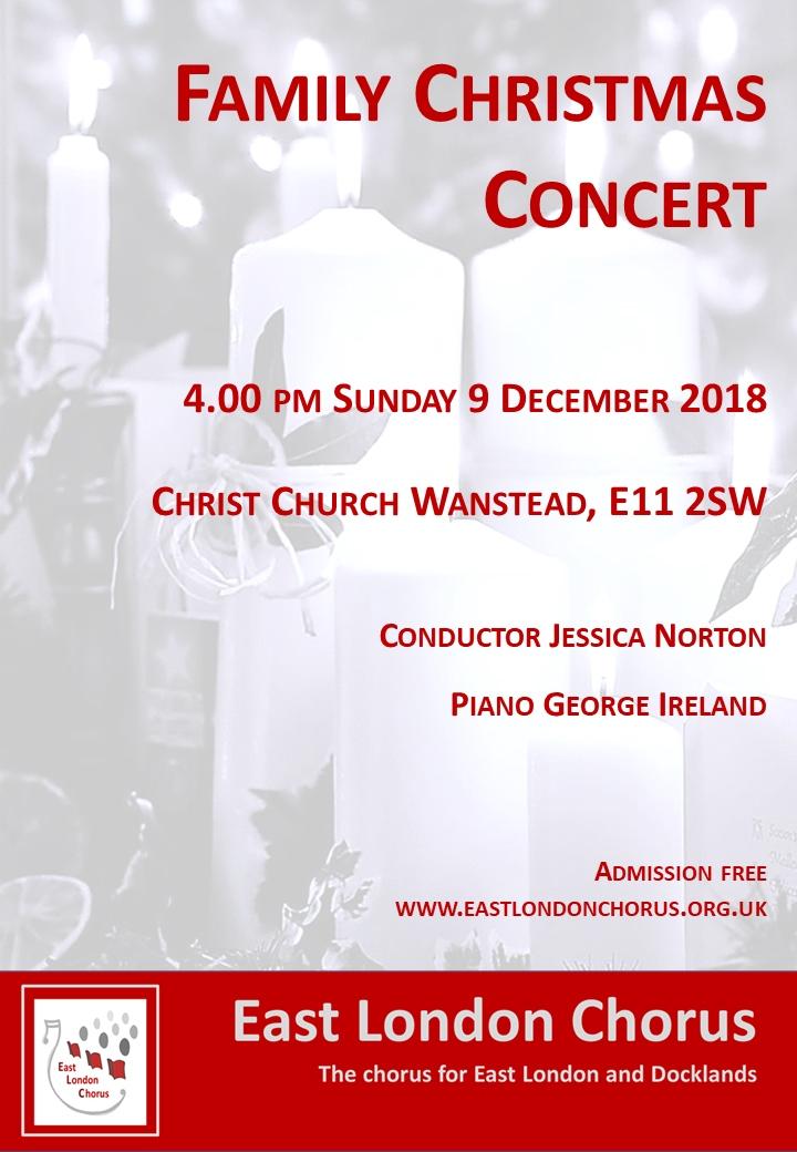 Past performances   East London Chorus